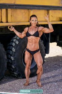 Join our SISTER SITE, PremiumPhysiques now for the brand new page featuring the MONSTER CALVES of Jill Diorio!
