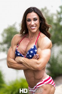 These are some AMAZING muscles - Join HDPhysiques now for gorgeous Sarah Fechter!