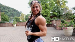 Join HDPhysiques now for the gorgeous and muscular Sarena Berish!