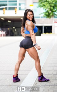 Shredded & ripped - join now for the ultra-hot Alyssa Isley - Physique Competitor!