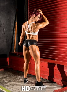SUPER powerful chick!  Get the new galleries of new model Brittany LaNae Bull by joining HDPhysiques now!