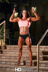 Look how RIPPED she is! New Lauren Rutan shoot now available! - Click here!