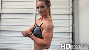 22-yr-old SPECIMEN - the awesome muscular and vascular arms of Kaitie Hart - amazing videos and galleries exclusively here at HDPhysiques.com - JOIN our members area now and don't miss a thing!