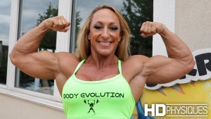 HUGE biceps - join HDPhysiques for Mary Cain in the latest update!