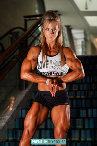 "Join PremiumPhysiques with our combo membership when you join here at HDPhysiques, and see Alli Schmohl's new page featuring her 16"" arms!"