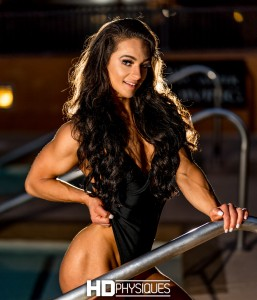 She's absolutely stunning, folks!  NEW MODEL Annaleise Varga, IFBB Fitness Pro - JOIN NOW!