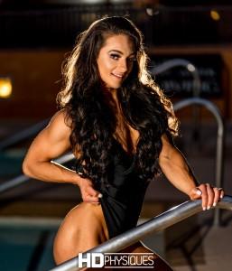 She's absolutely stunning, folks!  NEW MODEL Annaleise Varga, IFBB Fitness Pro - JOIN NOW!