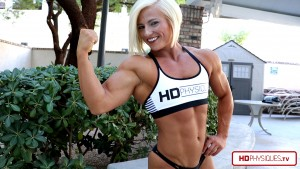 Click here to go to the Brooke Walker Clips Studio and get her latest video - massive offseason HOT muscle!