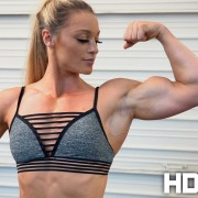 Kaitie Hart's biceps are just ridiculous!  Join NOW for the sexiest female muscle on the planet!