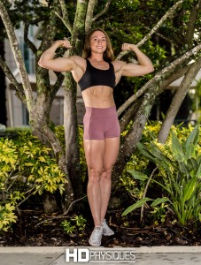 New model Lauren Taylor has amazing shape!  Just look at that!  Join HDPhysiques today!