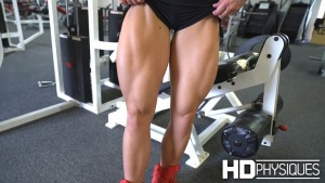 Sexy Blakelee Ortega showing off some amazing legs - JOIN HDPhysiques now for more amazing videos like this one!