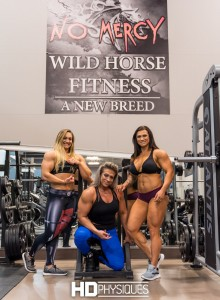 "The ultimate BEEFY muscle trio - JOIN NOW for Beefnuggette Paige Sandgren, Christina ""2-guns"" Bashara, and Jessica Chapa-wappa!"