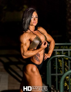 The ULTIMATE in muscular female figure.  Join HDP now for the gorgeous Inna Wyatt and her vascular, ROCK HARD physique!