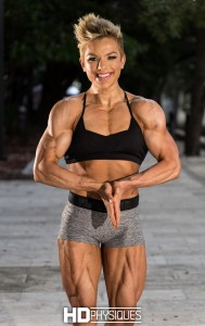 Seriously RIPPED! Join HDPhysiques now for incredible new physique pro, Kathleen Erickson!