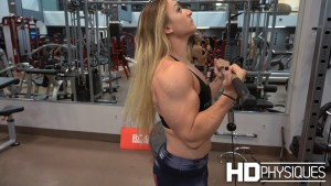 Look at those MASSIVE Arms on Nuggy - join HDPhysiques now for the amazing Wildhorse Trio Shoot!